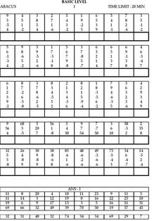 4 Ucmas Abacus Worksheets for Level 1 Model Paper √ Ucmas Abacus Worksheets for Level 1 . 4 Ucmas Abacus Worksheets for Level 1 . Abacus Maths Level 2 Worksheets Ucmas Elementary Aucmas in Worksheets Subtraction Worksheets, Kindergarten Worksheets, Worksheets For Kids, Printable Worksheets, Math Activities, Free Printable, Abacus Math, Math Sheets, Math Workbook