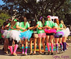 neon bid day. sisters are the best <3