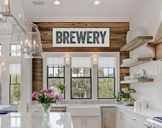 Brewery Sign Large Canvas Art Man Cave Fixer by laurenmaryHOME