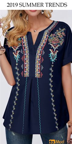 Modlily has all kinds of tops. It could gives you better choice. Don't miss … Modlily has all kinds of tops. It could gives you better choice. Fashion Wear, Fashion Outfits, Womens Fashion, Cute Tops, Blouses For Women, Designer Dresses, Cute Outfits, My Style, How To Wear