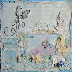 Design team project created with the Scraps of Elegance November kit Je t'aime featuring Ruby Rock it Bella J'adore, Dusty Attic and Prima