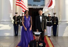 Celebration:Other big names who made the cut for the big White House dinner include TV ma...