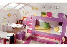 Litera juvenil 3 - Dormitorio con 2 camas
