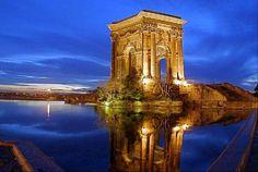 Peyrou - Montpellier by night