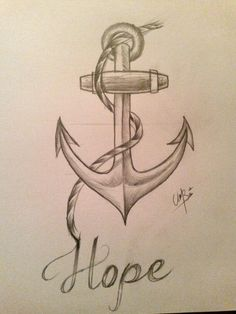 Drawing Doodles Sketches Anchor With Flowers Drawing Anchor drawing - Anchor Drawings, Pencil Art Drawings, Love Drawings, Doodle Drawings, Art Drawings Sketches, Disney Drawings, Doodle Art, Easy Drawings, Tattoo Drawings
