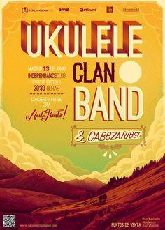 Ukulele Clan Band en Madrid el 13 de junio 2015 en notikumi