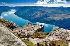 Cliff Preikestolen at Fjord Lysefjord | 10 Breathtaking Fjords Of The World