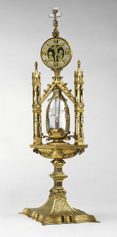 Reliquary of Mary Magdalene, Tuscan, c. 14th - 15th century