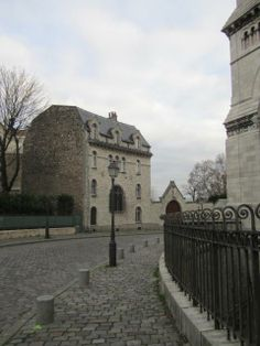 Even the side streets in Paris are beautiful.