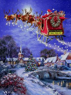 christmas scenes 40 Beautiful Christmas Painting Ideas to Try This Season - Page 2 of 3 - Bored Art Christmas Travel, Christmas Past, Christmas Greetings, Christmas Crafts, Christmas Decorations, Xmas, Ecards Christmas, Winter Christmas Scenes, Christmas Ideas