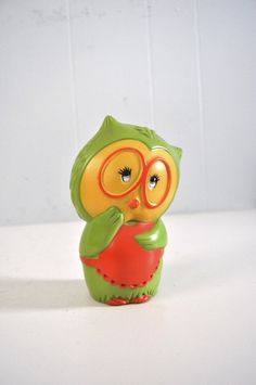 Vintage Owl Bank by Tom Remo 1971