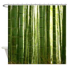 BAMBOO GROVE 2 Shower Curtain