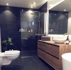 All About Unique Bathroom Remodel Bathroom Design Luxury, Modern Bathroom Decor, Simple Bathroom, Bad Inspiration, Bathroom Inspiration, Home Decor Inspiration, Master Bedroom Bathroom, Beautiful Bathrooms, Bathroom Renovations