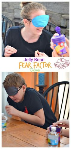 Jelly Bean Fear Factor Game is a game that is hilarious for all ages. It's a perfect indoor game for kids, teens, and adults. Youth Games Indoor, Indoor Group Games, Indoor Games For Adults, Group Games For Kids, Youth Group Activities, Activities For Adults, Outdoor Activities For Kids, Games For Teens, Family Games