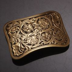 High Quality Antique Vintage/Retro Flower embossed Men's Solid  Copper Brass Belt Buckle-in Buckles & Hooks from Home & Garden on Aliexpress.com | Alibaba Group