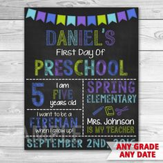 57 Best First Day Of School Signs Images Back To School First Day