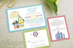 Hey, I found this really awesome Etsy listing at http://www.etsy.com/listing/156377343/up-balloon-house-wedding-invitation