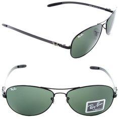 b3b32f34bf Ray-Ban RB 8301 002 Black   Crystal Green Tech Series