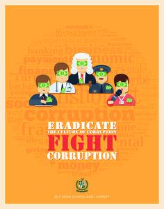 Anti Corruption Poster