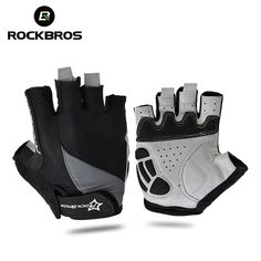 Cheap bicycle gloves, Buy Quality bike bicycle gloves directly from China half finger gloves Suppliers: ROCKBROS Cycling Anti-slip Anti-sweat Men Women Half Finger Gloves Breathable Anti-shock Sports Gloves MTB Bike Bicycle Glove Bike Gloves, Cycling Gloves, Mens Gloves, Cycling Bikes, Cycling Equipment, Road Bikes, Road Cycling, Slip, Bike Deals