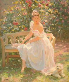 Alexander Averin - In the Rose Garden