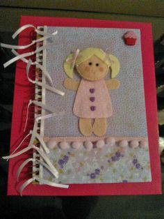 Caderno personalizado - recordações