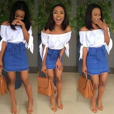 Perfect Summer Look - Latest Casual Fashion Arrivals. The Best of casual fashion in - Fashion New Trends Black Girl Fashion, Boho Fashion, Fashion Outfits, Womens Fashion, Urban Fashion Girls, Fashion Top, Summer Outfits, Casual Outfits, Cute Outfits