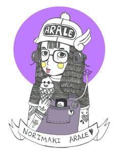 Norimaki Arale : AJ