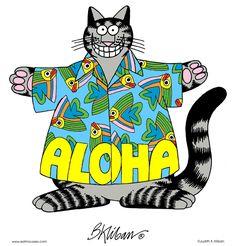 Kliban's Cats Aloha