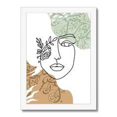 Flower Girl Framed Print - A3 Portrait / White Frame
