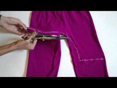 DIY - How To Make a Halter Top From Leggings - YouTube