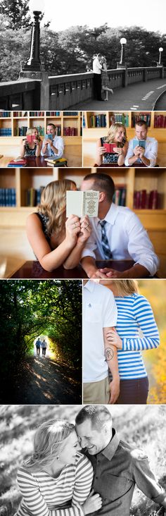 Seattle Engagement Photos from La Vie Photography via The Style Umbrella