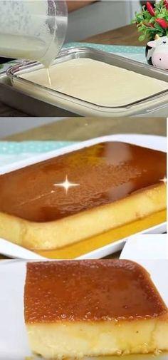 PUDIM TAMANHO FAMÍLIA #pudim #sobremesas #pudimfácil #doces #leitecondensado #sobremesasparaoaalmoço #receita #tudogostoso #cheesecake #receitaspraticas My Recipes, Sweet Recipes, Favorite Recipes, Frozen Desserts, Easy Desserts, Mantecaditos, Trifle Pudding, Portuguese Recipes, Mousse