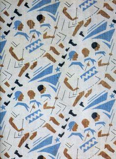 Soviet fabrics design, 1920-30s.