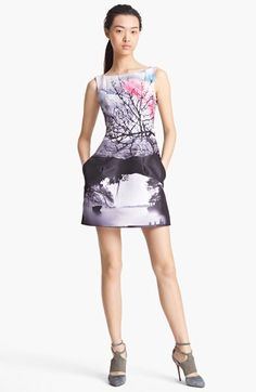 Mary Katrantzou Sleeveless Print Dress available at #Nordstrom