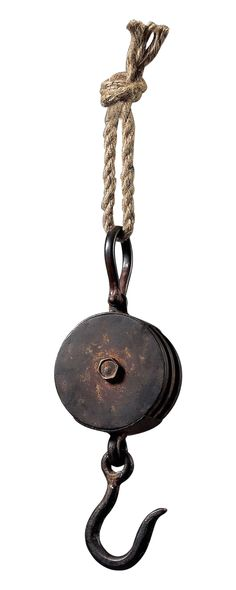 Indulge your fancy for industrial relics with this Portsmouth Hook. Its rugged maritime theme makes this the perfect utility or décor piece in your beach house or industrial-chic home. Charming and aut...  Find the Portsmouth Hook, as seen in the An Equestrian Farmhouse Collection at http://dotandbo.com/collections/an-equestrian-farmhouse?utm_source=pinterest