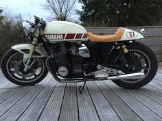 1100xs 1978 cafe racer by WTP Chateauroux