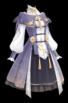 Cosplay Outfits, Anime Outfits, Cool Outfits, Fashion Outfits, Clothing Sketches, Dress Sketches, Mode Steampunk, Drawing Anime Clothes, Riding Clothes