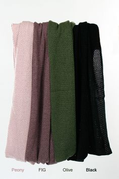 cashmere loop scarf