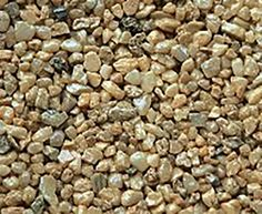 """Amazon.com : Safe & Non-Toxic {Small Size, 0.12"""" Inch} 25 Pound Bag of Gravel & Pebbles Decor Made of Genuine Quartz for Freshwater Aquarium w/ Natural Simple Modern Earthy Toned River Style [Tan] : Pet Supplies"""