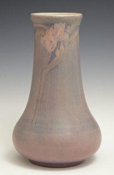 Newcomb College Matte Glaze Art Pottery Baluster Vase,