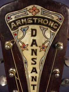 Armstrong headstock
