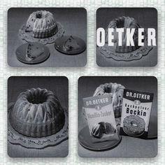 """Mach's mit Oetker!"", Dr. Oetker TV-Spot Backzutaten ""Gugelhupf"" 1958, Oetker Firmenarchiv (OeFA) // #OetkerHistory #Backen #Gugelhupf Vintage Housewife, Food Advertising, Retro Recipes, Lunch Snacks, Cupcakes, Creme, Barware, Tv, Retro Food"