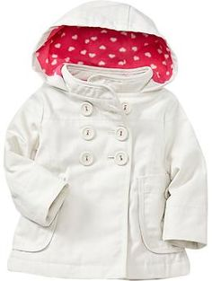 Hooded Canvas Jackets for Baby | Old Navy