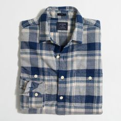 J.Crew Plaid flannel workshirt (€24) ❤ liked on Polyvore featuring men's fashion, men's clothing, men's shirts, men's casual shirts, mens work shirts, mens flannel shirts, mens plaid flannel shirts, mens tartan shirt and j crew mens shirts