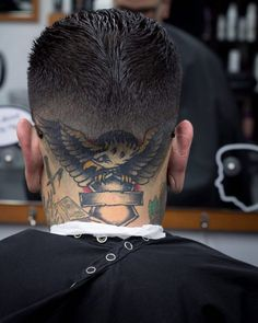 558f075c2bcb0 21 Best Haircuts for Head Tattoo images in 2017 | Head tattoos ...