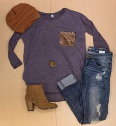 We are LOVING this easy to wear outfit!!