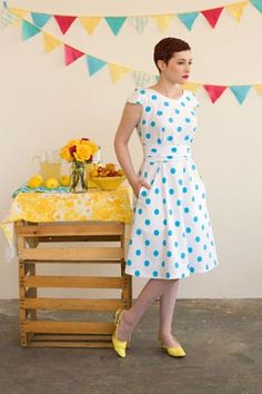 Crepe by Colette Patterns - a good beginner dress pattern.