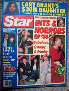 STAR MAGAZINE - DEC. 23, 1986 - Fergie