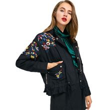 Tag a friend who would love this!|    Fresh new arriving CharMma 2017 Autumn Jackets Women Floral Embroidered Zip Up Denim Jacket Fashion Slim Stand-Up Collar Jeans Outwear Winter now at a discount $US $55.96 with free postage  you can purchase this product and far more at the online store      Grab it today the following >> https://tshirtandjeans.store/products/charmma-2017-autumn-jackets-women-floral-embroidered-zip-up-denim-jacket-fashion-slim-stand-up-collar-jeans-outwear-winter…